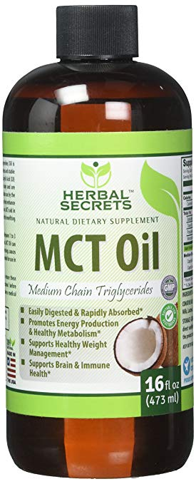 Herbal Secret MCT oil