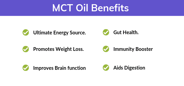 MCT Oil Benefits.