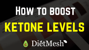 How to boost ketone levels